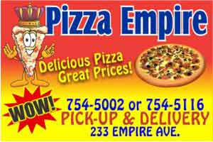 pizza empire