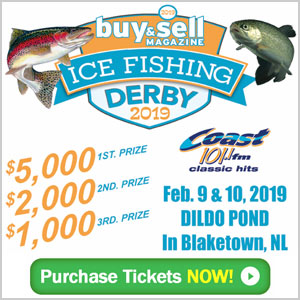 NL Buy Sell Ice Fishing derby