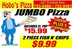hobos piza