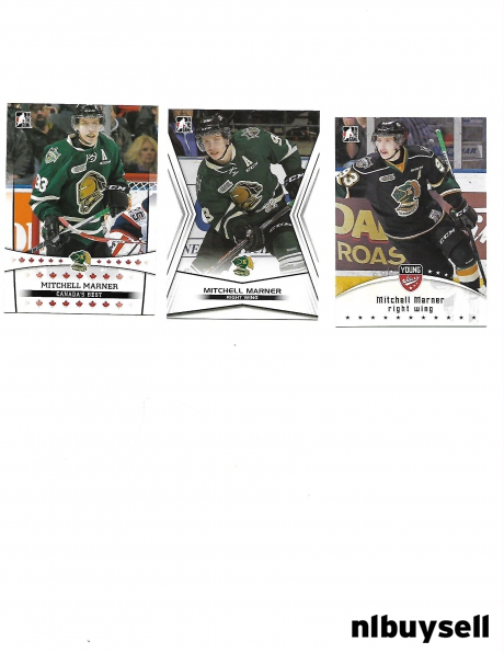 Mitchell Marner rookie cards.....Lot of 3