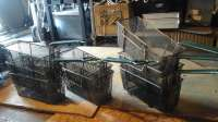 6 used fry baskets garland 15.00 each  80.00 for