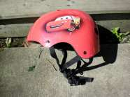 cars childs helmet