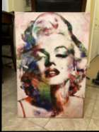 Marylyn Monroe Canvas Pictures