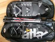 Men's Black Atlas Snowshoes
