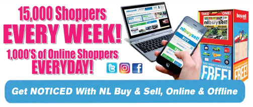 Get Noticed with NL Buy & Sell, Online & Offline