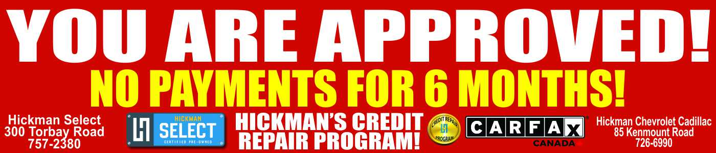 Hickman Motors New and Used - Kenmount Road