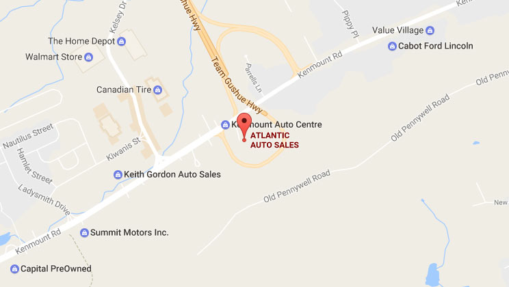 Atlantic Auto Sales - View Map