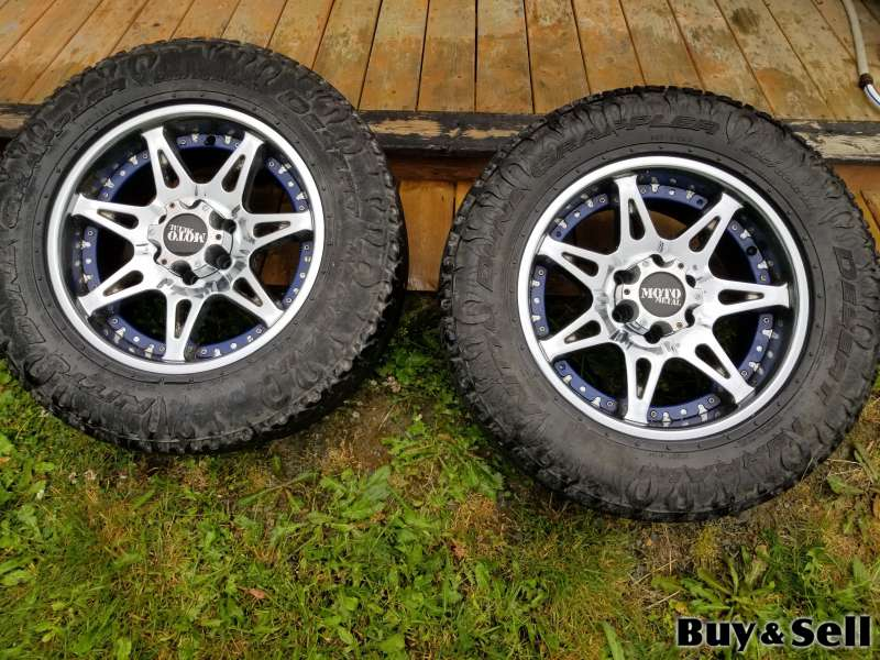 18 inch  tires and rims REDUCED PRICE