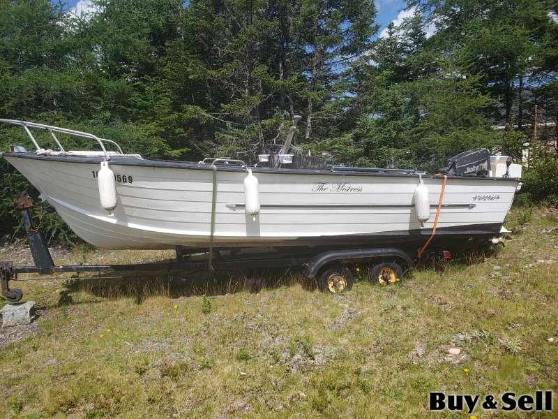 19 1/2 foot Starcraft Cheifstair Aluminum Boat