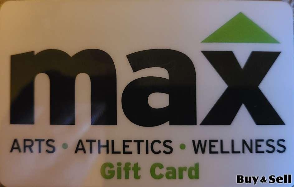 $250 Max Arts Athletics and Wellness GIFT CARD!