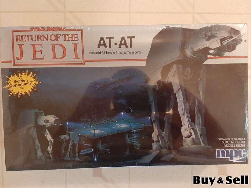 3 Original Star Wars Model Kits