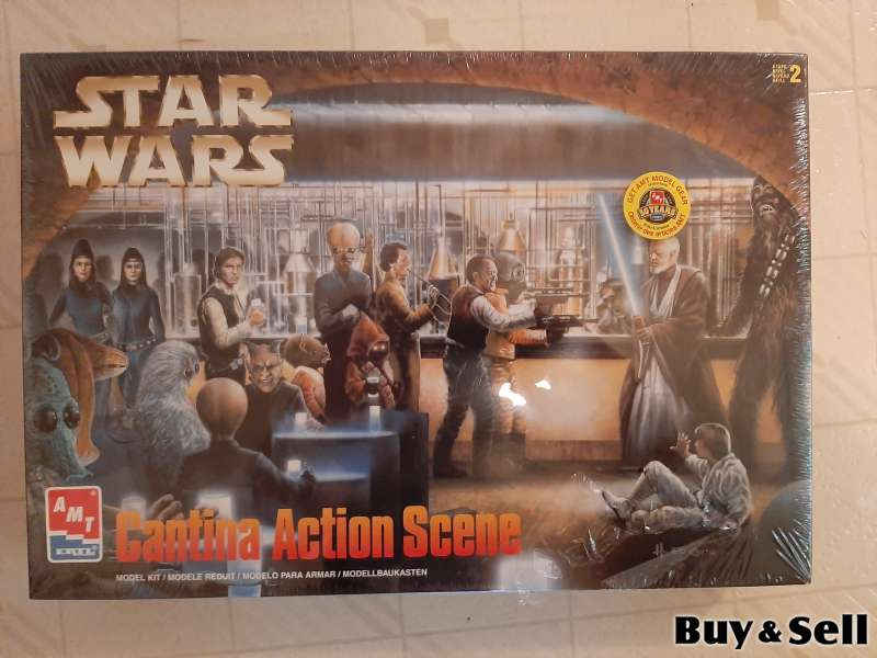 3 Original Star Wars Scenes Model Kits