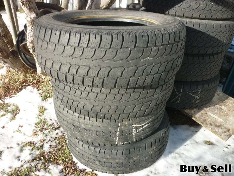 4 15IN HANKOOK I-PIKE PC01 WINTER TIRES P195/65R15