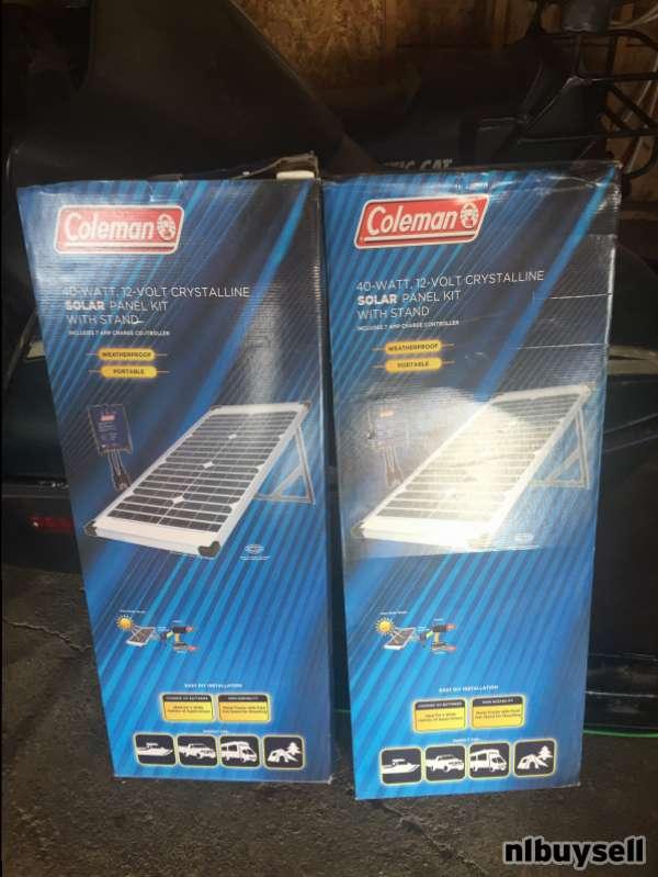 40 watt solar panels