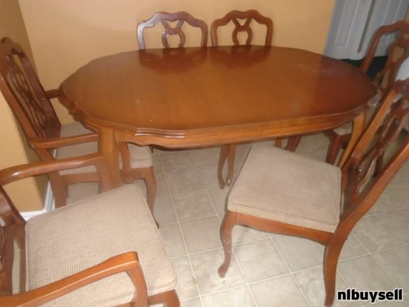 buy dining room set clarity photographs | 7 piece Dining Room Set - NL Buy Sell