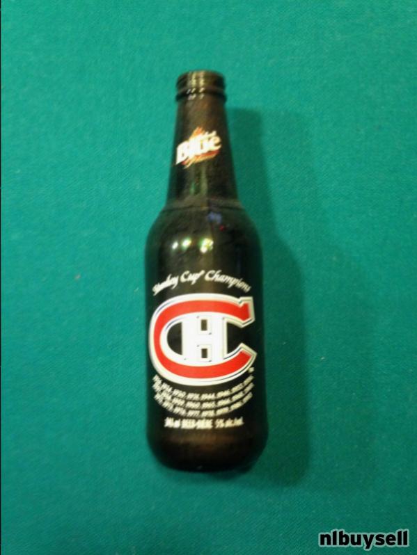 montreal canadiens beer bottle