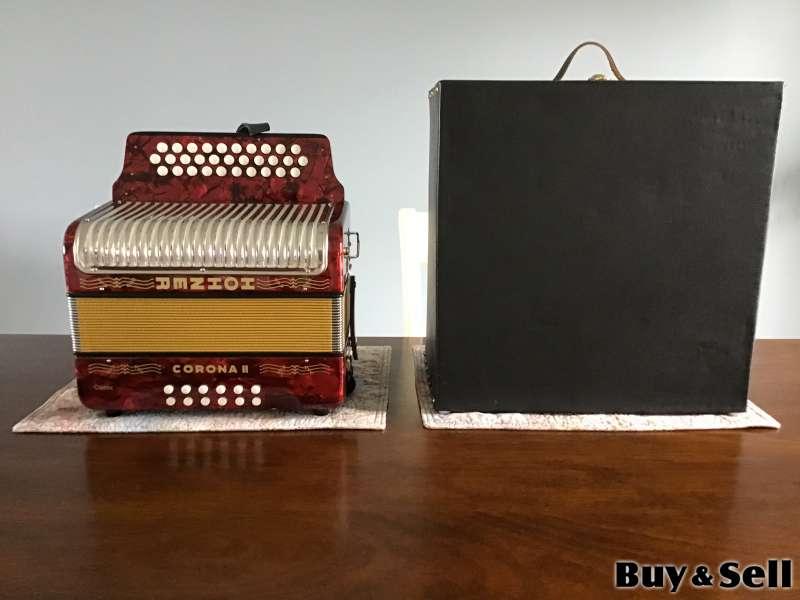 Hohner Corona II Classic Accordion For Sale