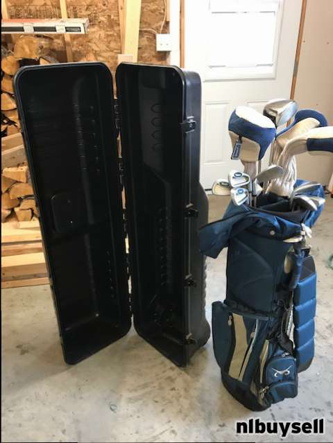 Ladies Golf Club Set with Travelling Case