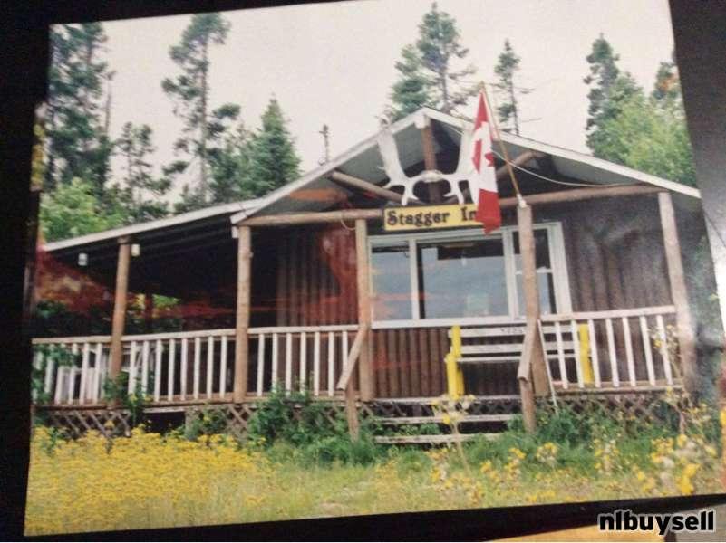 Log cabin on Soulis Pond