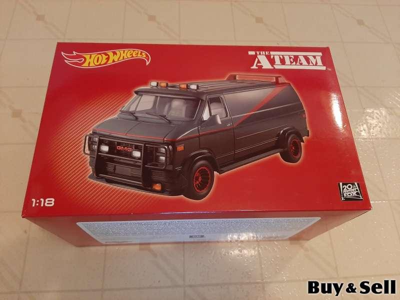 Original Hot Wheels 1:18 A-Team Van