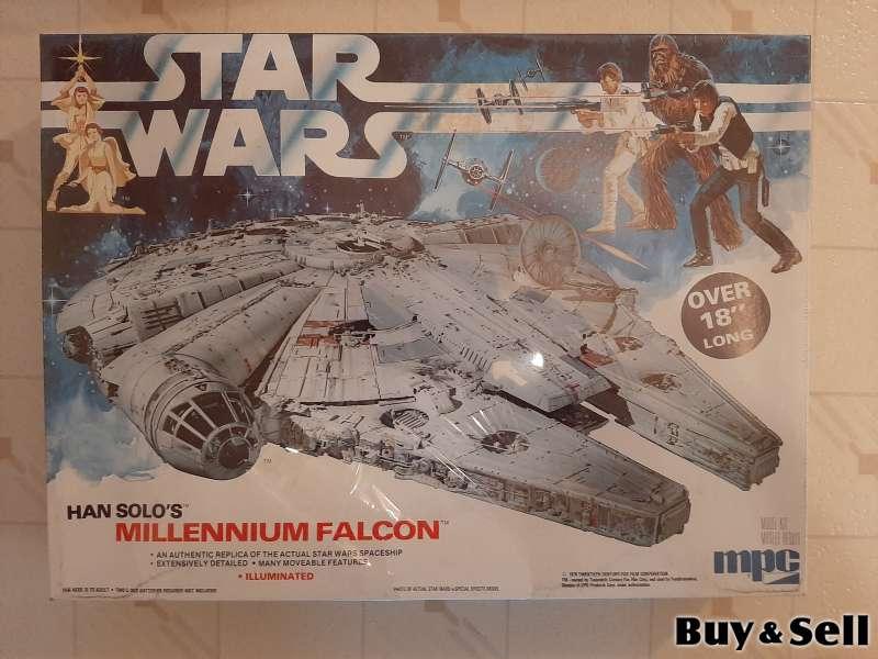 Original Rare 1979 Lighted Millenium Falcon