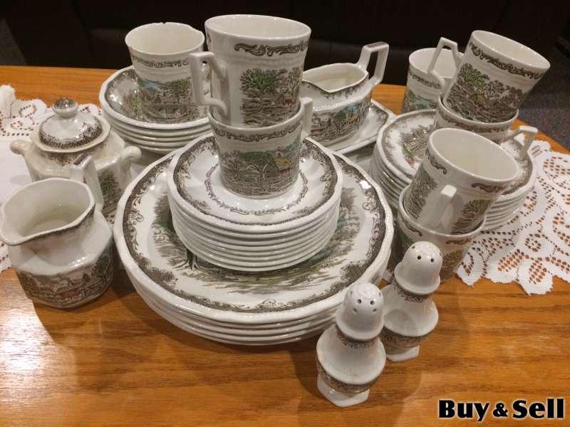 Set of Vintage Kensington R2815 Dishes