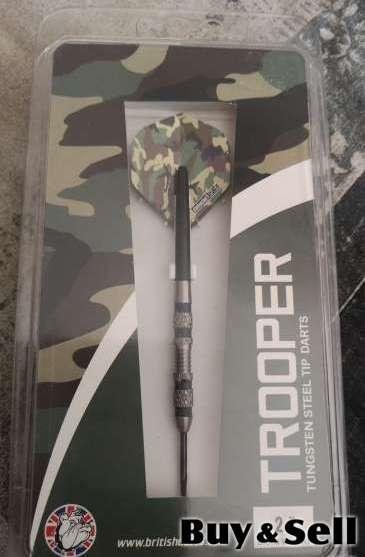 Trooper Tungsten Steel Tip Darts
