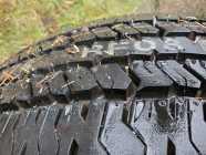 1 new Hankook tire on f150 rim