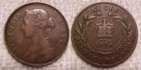 Old Newfoundland coins. The NL Large cents in the ...