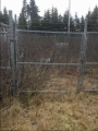112 Ft 6.5ft high Chain Link Fence