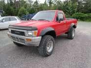 Little red truck