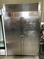 Two Door Stainless Steel Freezer