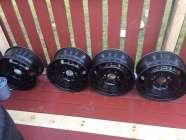 RIMS set of steel rims to fit ford truck f150 6 hole ...