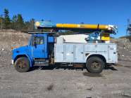 bucket truck, Ex light and power truck, call for details