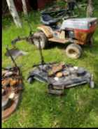19 hp Sears Garden Tractor with Implements