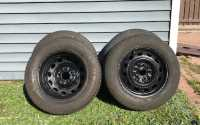 P195 65r 15 winter tires and rims