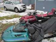 380 Rotax ski doo Lt es ( green one in photo) in good ...
