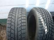 2 15IN. ARCTIC WINTER STUDDED TIRES P195/60R15