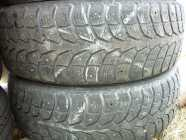 2 15IN. WINTER CLAW  STUDDED TIRES P195/65R15