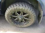 "20"" Fuel Rims and tires-Dodge Ram"