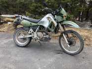 2001 Kawasaki 650 KLR Dirt Bike ... $3,250