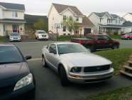2006 4.0L ford mustang grey