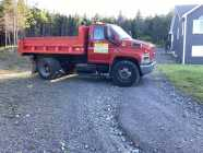 2008 Diesel GMC 7500 Dump Truck