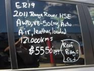 2011 Ranger Rover HSE