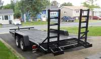 2013 Gatortail 18 foot Tandem Equipment Trailer