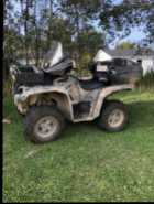 For sale 2015 Yamaha Grizzly 700 with trailer