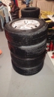 Tires and Aluminum Rims for Sale