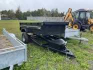 2022 5x7 Dump trailer 5200lbs