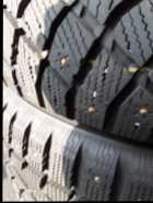 215 55 R17 studded Winterclaw tires - Photo 1 of 4