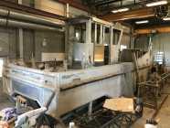 30' aluminum work boat